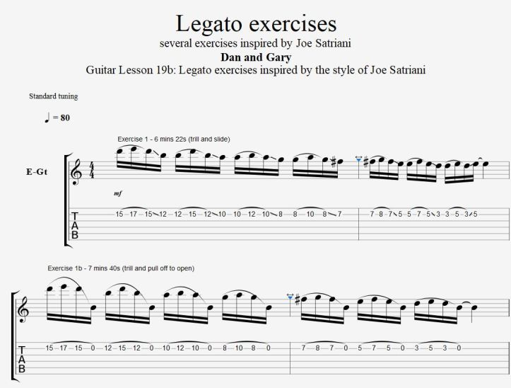 19b Legato exercises satch